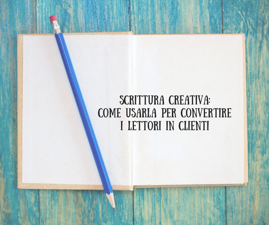 come usare la scrittura creativa per far venire l'acquolina in bocca a chi legge